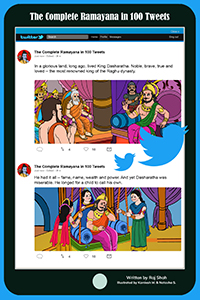 The Complete Ramayan in 100 Tweets